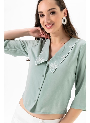 Tiffany&Tomato Bluz Yeşil